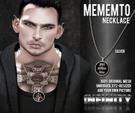 !NFINITY Mememto Necklace - SILVER (add/wear)
