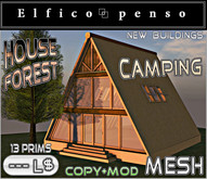 Elfico penso: House Forest Camping