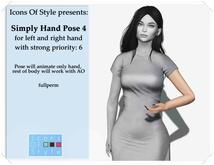 IOS Simple Hand Pose 4 -  fullperm