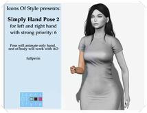 IOS Simple Hand Pose 2 -  fullperm
