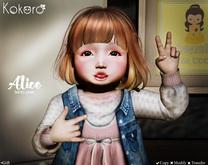 Kokoro Poses - Alice GIFT (Bento Pose)