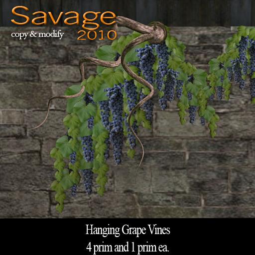 Hanging Grape Vines