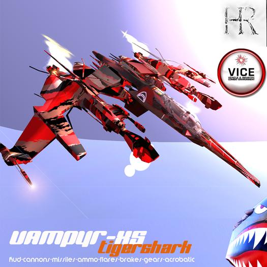 H.R. Vampyr Tiger-Shark XS