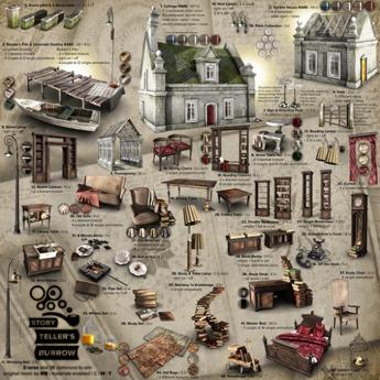 19 - 8f8 - Storyteller's Burrow - Reading Cabinet BAG