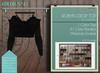 "Addams ""Robyn"" Mesh Crop Top for Maitreya, Belleza, Slink #41"