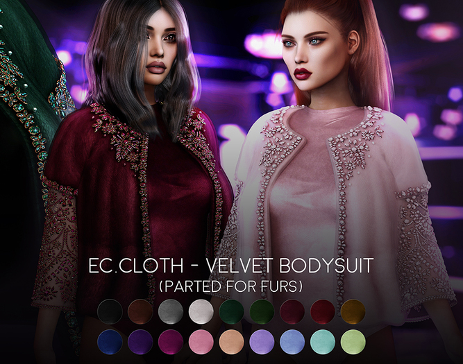 Ec.cloth - Velvet Body Parted For Furs (add it)
