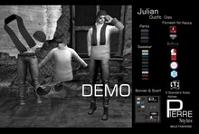 PierreStyles JULIAN SWEATER /JEANS  Outfit-DEMO-MESH & CLASSIC BODIES