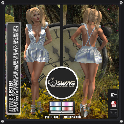 [RnR] Swag Little Sister Outfit (HUD) [BOX]