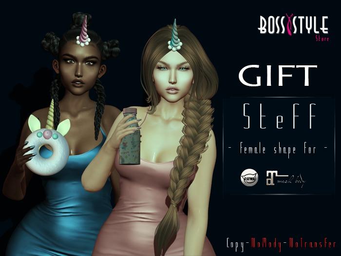 .::Boss Style::. Shape Steff for bento - Catwa Catya (GIFT)