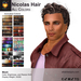 A&A Nicolas Hair Mesh All Colors Pack. Mens mesh hairstyle