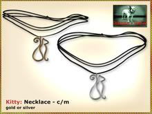 Bliensen + MaiTai - Kitty - cat necklace