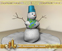 Gift! Snowman the snow,100 mesh (full perm).