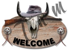 Sign - Western Welcome