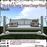 @IIncendia Sit and Relax Swing White wood