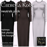 Poet's Heart - Estrella Robes - Neutrals Pack