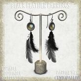 *CentoPalini* Feather Earrings