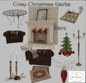 .:Bee Designs:. Cosy Christmas Gacha Mini cakes