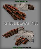 AS Steel Beam Pile - Copy - Modify - Low Impact