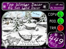 ** TOP ** Winter Decor V6 ** Big Set **