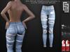 Elven Elder Fit Mesh Highwaist pants v1 with HUD Maitreya Belleza Slink