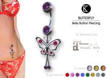 [*K*] Piercing Belly Butterfly - Maitreya Lara