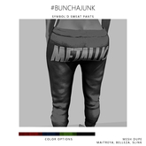 #BunchaJunk // Symbol'd Sweats - Red