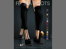 Pure Poison - Felina Boots [BOXED]
