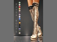 Pure Poison - Raysa Boots Ad - ons for Belleza, Maitreya, SLINK High Feet