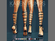 Pure Poison - Karen Pumps Ad - ons for Belleza, Maitreya, Slink High Feet
