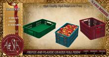 ALESTA << Mesh Fruits and Plastic Crates Full Perm