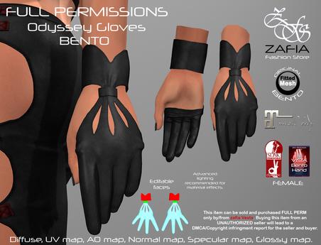 Full Perm-ZAFIA Odyssey Gloves-BENTO FATPACK