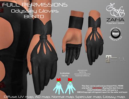 Full Perm-ZAFIA Odyssey Gloves-Maitreya-BENTO