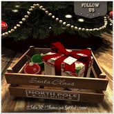 !! Follow US !! Christmas crate (gift box)