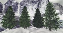 Aphrodite Christmas tree full perm- Full perm pine tree- BOXED