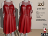 *ZD* Gisella Dress - Red