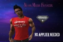 The Neon Moon Fashion-Sleeveless Shirt-Entropy