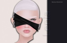 Bauhaus Movement - Lenia Blindfold / BLACK