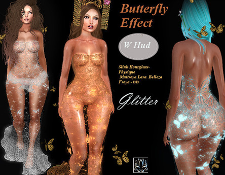 Lotus -Butterfly Effect Glitter transparent