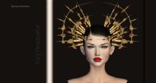 Bauhaus Movement - Yuri Headpiece / GOLD