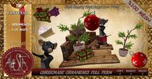 ALESTA << Mesh Christmas Ornaments Full Perm