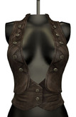 DE Designs - Kara Vest - Old Leather