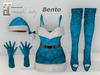 ~PP~ Christmas Outfit - Blue Xmas Christmas Outfit - Maitreya Bento