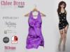 Chloe Dress Purple