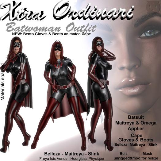 *XO* Batwoman Outfit