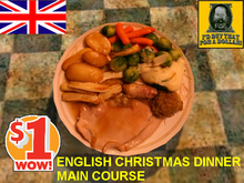 ENGLISH CHRISTMAS DINNER by Zoe's Cafe