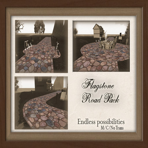 -W-[ Road Path ]  Flagstone Road Pack  (mod/copy)
