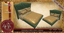 ALESTA << Mesh Double Bed Full Perm