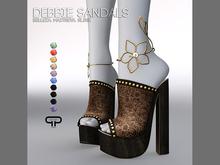 Pure Poison - Debbie Sandals Ad - ons for Belleza, Maitreya, Slink High Feet
