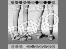 DEMO - Pure Poison - Chloe Sneakers Ad - ons for Belleza, Maitreya, Slink Flat Feet