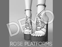 DEMO - Pure Poison - Rose Platforms Ad - ons for Belleza, Maitreya, Slink High Feet